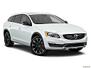 2018 Volvo V60 Cross Country T5 AWD, front passenger 3/4 w/ wheels turned.