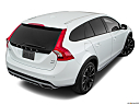 2018 Volvo V60 Cross Country T5 AWD, rear 3/4 angle view.