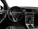 2018 Volvo V60 Cross Country T5 AWD, steering wheel/center console.