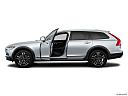 2018 Volvo V90 Cross Country T5, driver's side profile with drivers side door open.