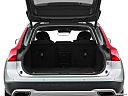 2018 Volvo V90 Cross Country T5, trunk open.