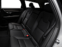 2018 Volvo V90 Cross Country T5, rear seats from drivers side.