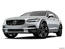 2018 Volvo V90 Cross Country T5, front angle view, low wide perspective.