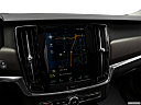 2018 Volvo V90 Cross Country T5, driver position view of navigation system.