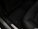 2018 Volvo V90 Cross Country T5, rear driver's side floor mat. mid-seat level from outside looking in.