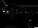 "2018 Volvo V90 Cross Country T5, centered wide dash shot - ""night"" shot."