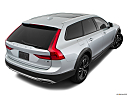 2018 Volvo V90 Cross Country T5, rear 3/4 angle view.