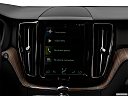 2018 Volvo XC60 T5 Momentum, closeup of radio head unit