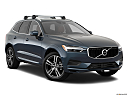 2018 Volvo XC60 T5 Momentum, front passenger 3/4 w/ wheels turned.