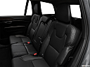 2018 Volvo XC90 T6 Momentum, rear seats from drivers side.