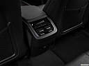 2018 Volvo XC90 T6 Momentum, rear a/c controls.