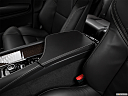 2018 Volvo XC90 T6 Momentum, front center console with closed lid, from driver's side looking down