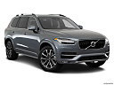 2018 Volvo XC90 T6 Momentum, front passenger 3/4 w/ wheels turned.