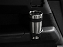 2018 Volvo XC90 T6 Momentum, third row side cup holder with coffee prop.