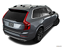 2018 Volvo XC90 T6 Momentum, rear 3/4 angle view.