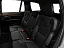 2018 Volvo XC90 T6 Inscription, rear seats from drivers side.