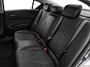 2019 Acura ILX, rear seats from drivers side.