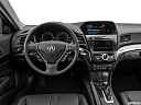 2019 Acura ILX, steering wheel/center console.
