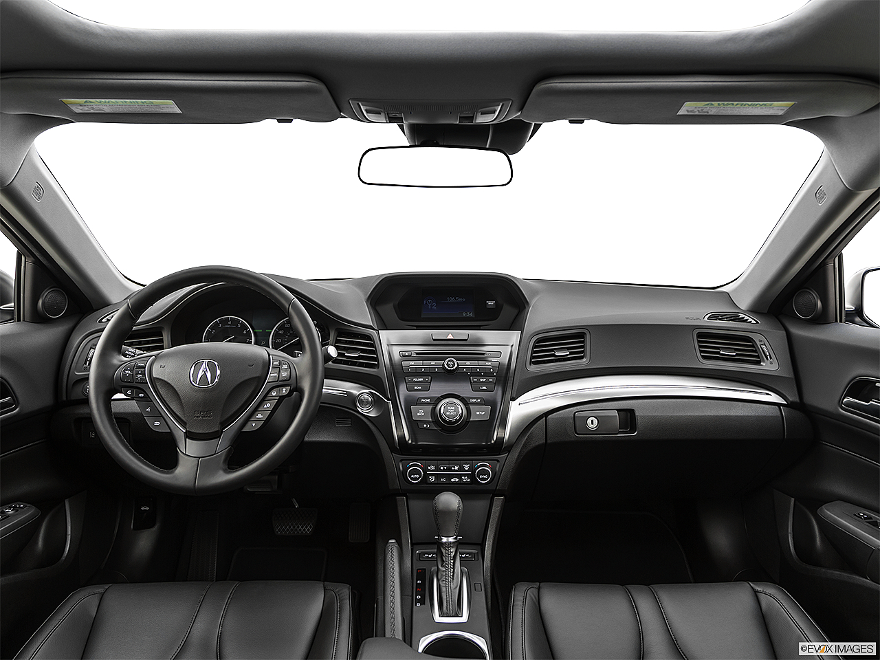 2019 Acura ILX, centered wide dash shot