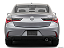 2019 Acura ILX, low/wide rear.