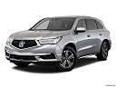 2019 Acura MDX, front angle medium view.