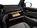 2019 Acura MDX, glove box open.