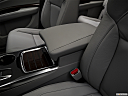 2019 Acura MDX, front center console with closed lid, from driver's side looking down