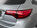 2019 Acura MDX, passenger side taillight.