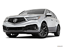 2019 Acura MDX, front angle view, low wide perspective.