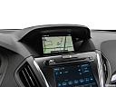 2019 Acura MDX, driver position view of navigation system.