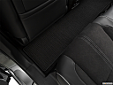 2019 Acura MDX, rear driver's side floor mat. mid-seat level from outside looking in.
