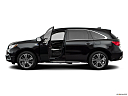 2019 Acura MDX Sport Hybrid SH-AWD, driver's side profile with drivers side door open.