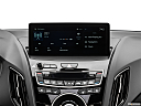 2019 Acura RDX A-Spec Package, closeup of radio head unit