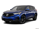 2019 Acura RDX A-Spec Package, front angle medium view.