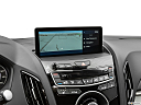 2019 Acura RDX, driver position view of navigation system.
