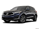 2019 Acura RDX, front angle medium view.