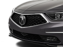 2019 Acura RLX Sport Hybrid SH-AWD, close up of grill.