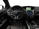 2019 Acura RLX Sport Hybrid SH-AWD, steering wheel/center console.