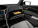 2019 Acura TLX 2.4 8-DCT P-AWS, glove box open.
