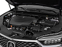 2019 Acura TLX 3.5L, engine.