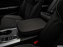 2019 Acura TLX 3.5L, front center console with closed lid, from driver's side looking down