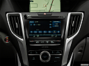 2019 Acura TLX 3.5L w/ Technology Package, closeup of radio head unit