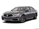2019 Acura TLX 3.5L w/ Technology Package, front angle medium view.