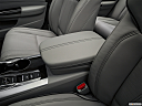2019 Acura TLX 3.5L w/ Technology Package, front center console with closed lid, from driver's side looking down