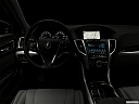 "2019 Acura TLX 3.5L w/ Technology Package, centered wide dash shot - ""night"" shot."