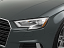 2019 Audi A3 Cabriolet Premium 2.0 TFSI, drivers side headlight.