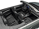 2019 Audi A3 Cabriolet Premium 2.0 TFSI, convertible hero (high from passenger, looking down into interior).