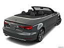 2019 Audi A3 Cabriolet Premium 2.0 TFSI, rear 3/4 angle view.