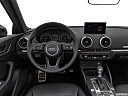 2019 Audi A3 Cabriolet Premium 2.0 TFSI, steering wheel/center console.
