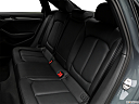 2019 Audi A3 Premium 2.0 TFSI, rear seats from drivers side.